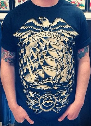 Envision Tattoo Studio Limited Edition Tshirt