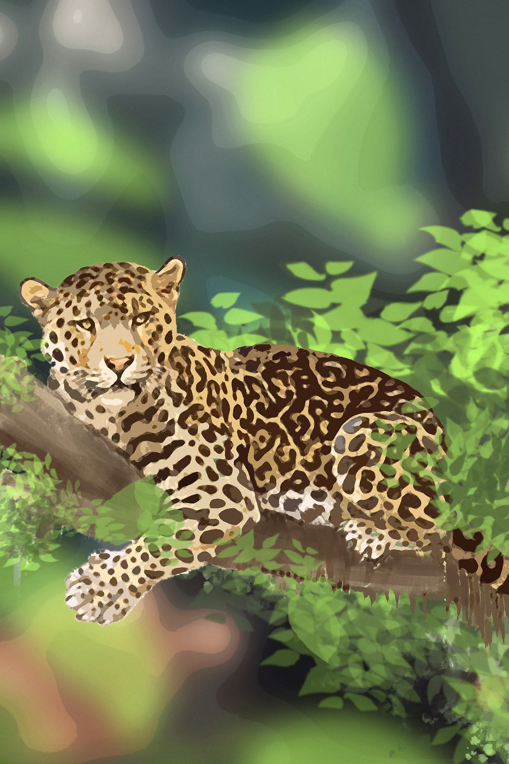 What does an Amur leopard look like