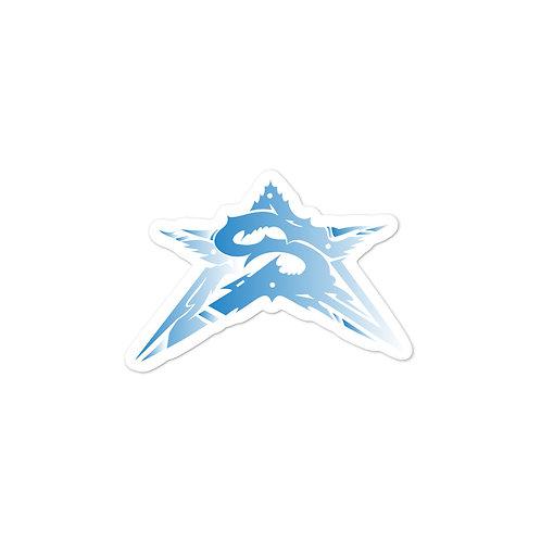 Blue Star Stickers