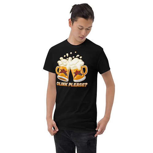 """""""Clink Please?"""" T-Shirt: (Unisex)"""