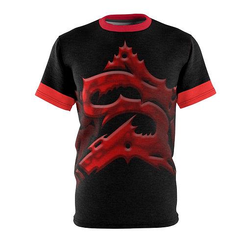 Red Super Star T-Shirt (Unisex)