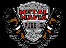 Metal Mafia pure 13 logo.png