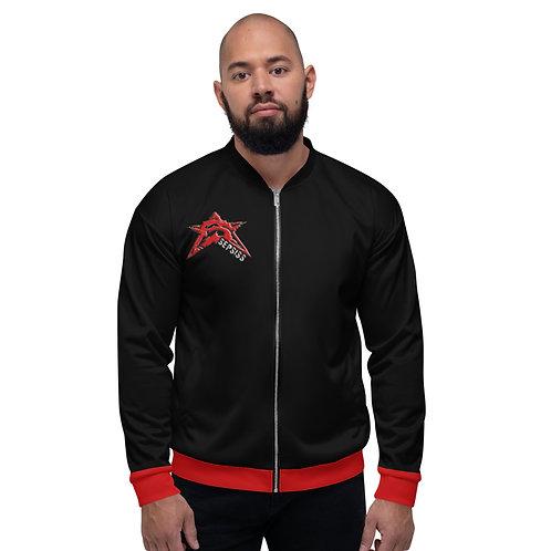 Unisex Red Bomber Jacket
