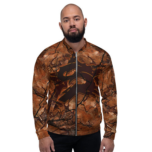 SEPSISS ELEMENTS: Unisex Earth Bomber Jacket