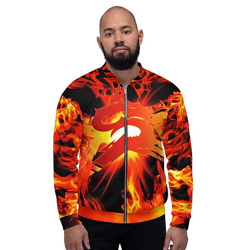 SEPSISS ELEMENTS: Unisex Fire Bomber Jacket