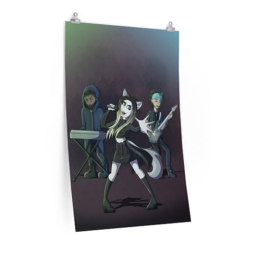 "Premium Poster: Anime Band (24""x36"")"