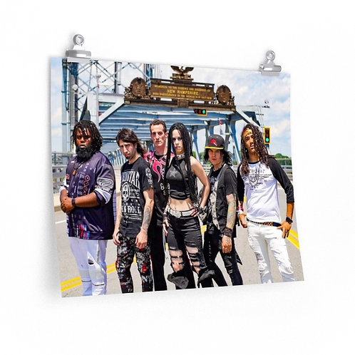 "Band Poster: Portsmouth Bridge (20""x16"")"