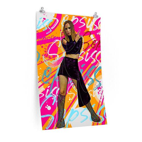 """Premium Poster: Graffiti Melissa (24""""x36"""")"""