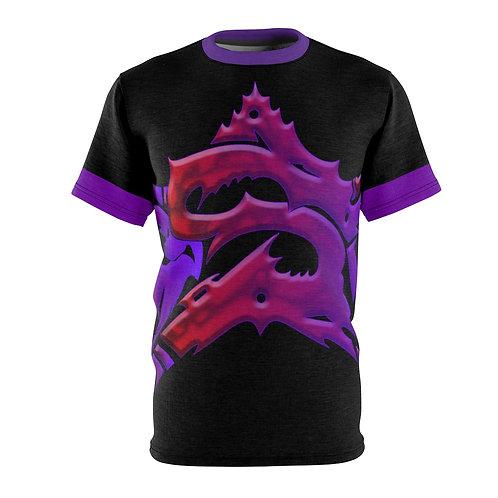 Purple Super Star T-Shirt (Unisex)
