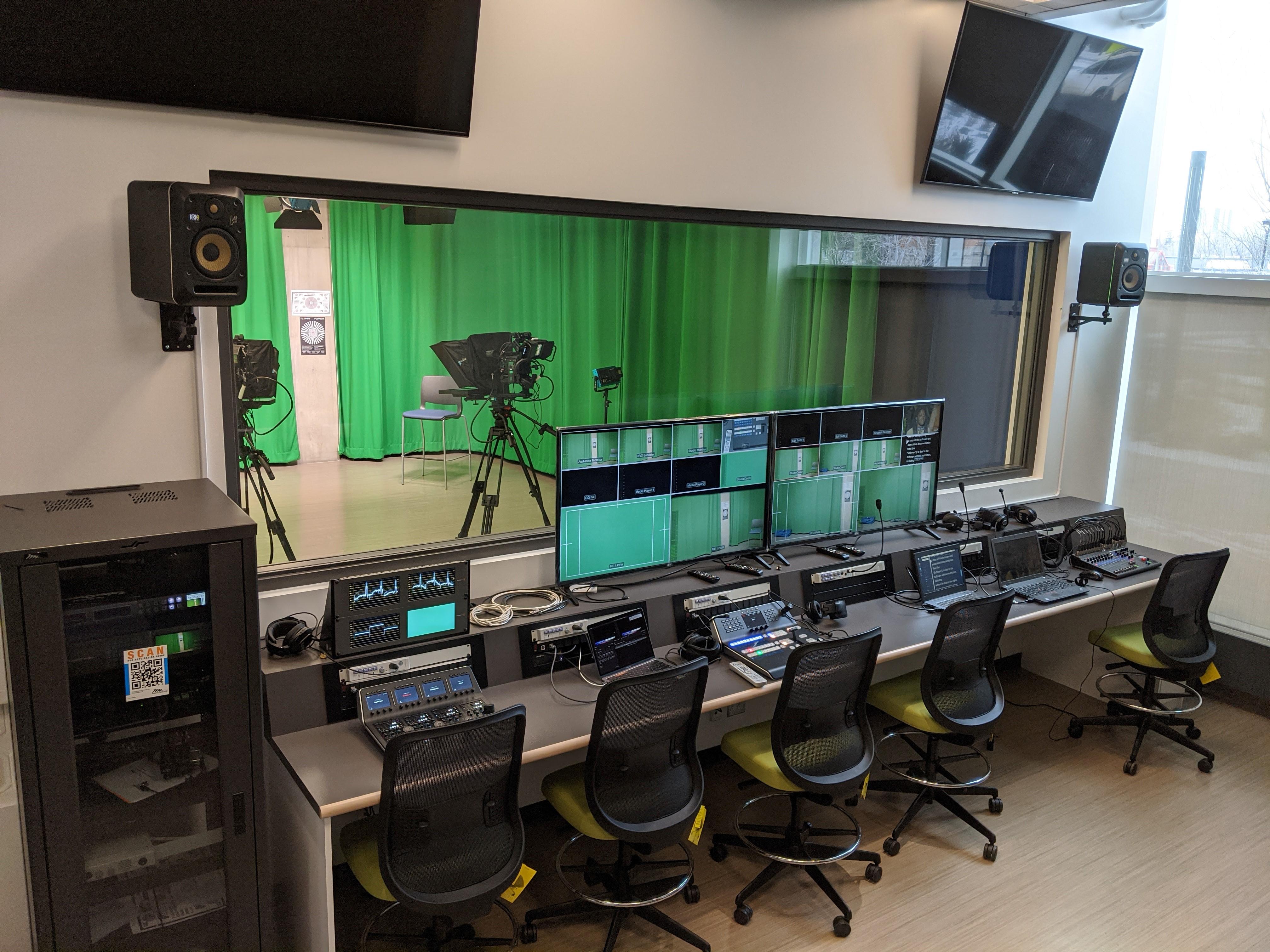 MacEwan University Video Production Studio