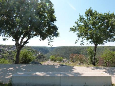 De nouveaux points de vue sur Rocamadour grâce à la promenade piétonne