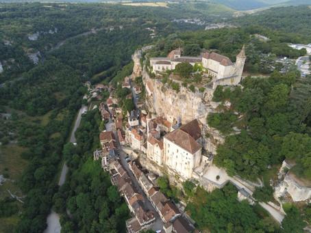Le Sanctuaire Notre-Dame de Rocamadour accueille les pèlerins