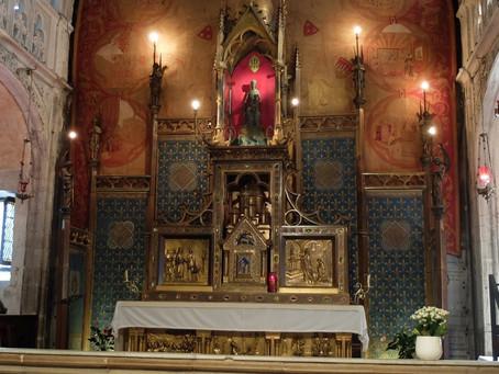 Veillée à Notre-Dame de Rocamadour le 20 mai