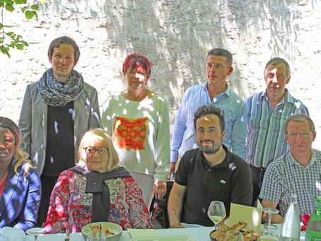Le collectif « manger durable » de l'Assemblée Nationale à Rocamadour