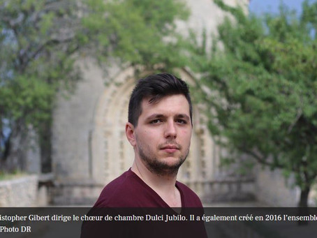 Rocamadour. Christopher Gibert revient dans sa ville de chœur