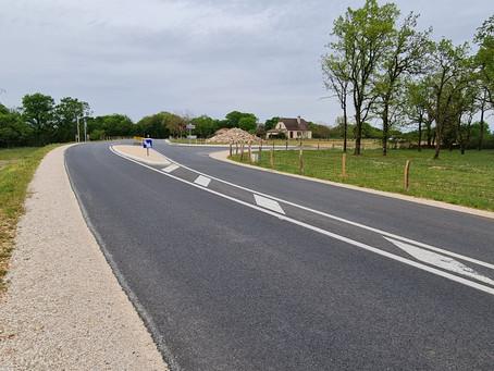 Un nouvel accès routier au secteur du château