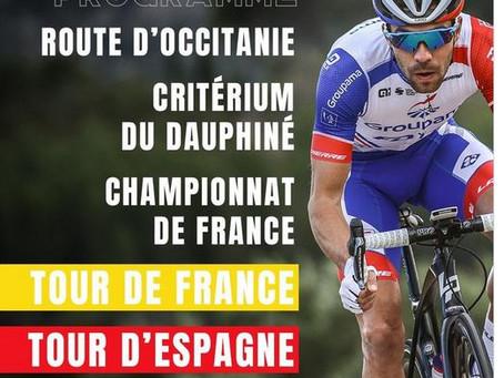 Le beau programme de Thibaut Pinot avec le Tour de France, la Vuelta et la Route d'Occitanie