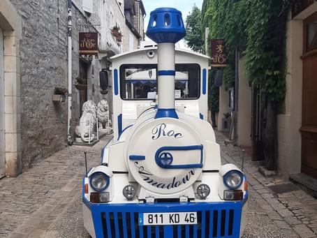 Le petit train de Rocamadour a repris du service !