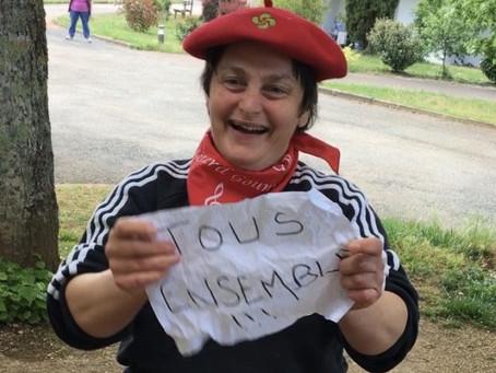 Rocamadour : Tous ensemble contre le virus au Pech de Gourbière
