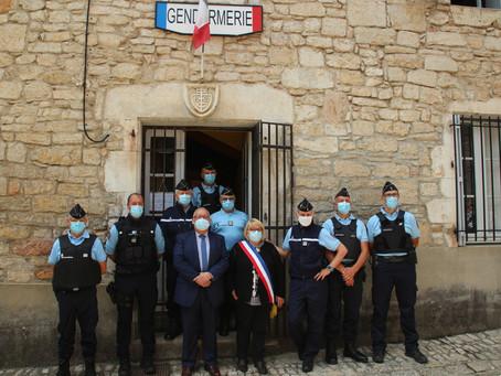 Ouverture du poste saisonnier de gendarmerie