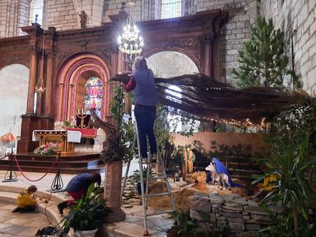 La crèche de la Basilique St Sauveur
