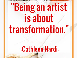 Art is about Transformation