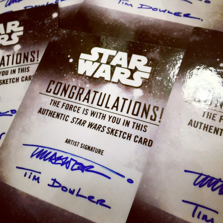 Topps Star Wars Holocron has landed!