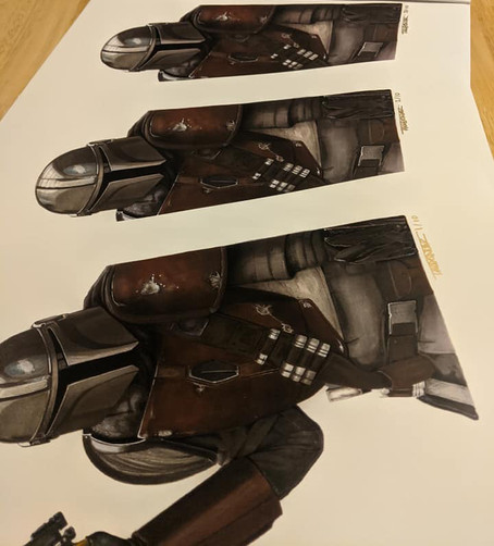 Mandalorian prints close to selling out!