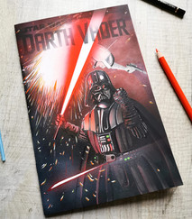 Darth Vader Blank Cover Sketch