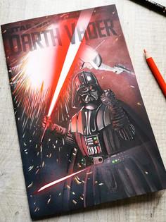 Darth Vader Blank Cover Sketch