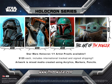 Topps Star Wars Holocron Out Now!!