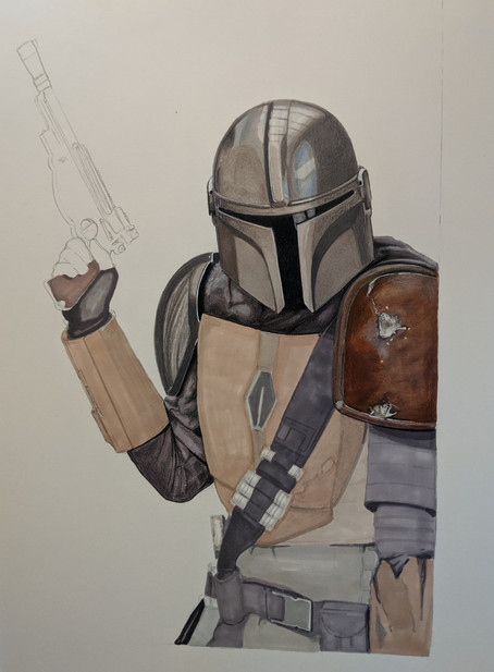 Mandalorian Work in Progress #3