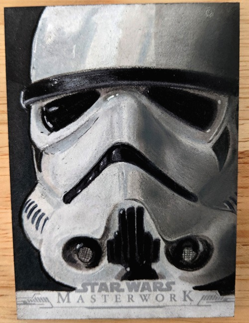 Stormtrooper sketch card