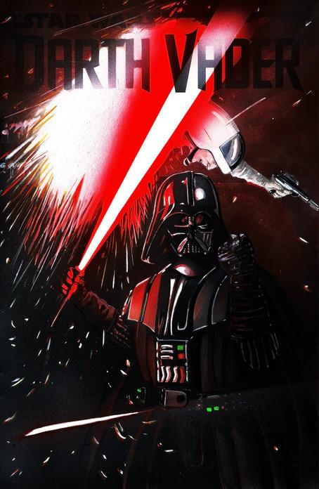 """""""Vader Unleashed"""" Sketch Cover"""