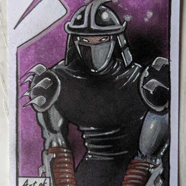 Official TMNT - Shredder