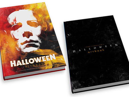I will be included in John Carpenters Halloween artbook!