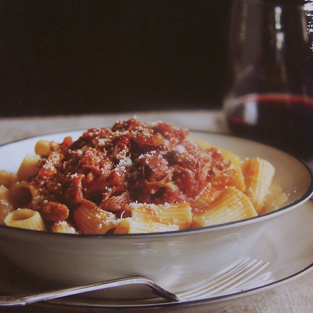 The Shoulder Cut/Lamb Ragu Recipe