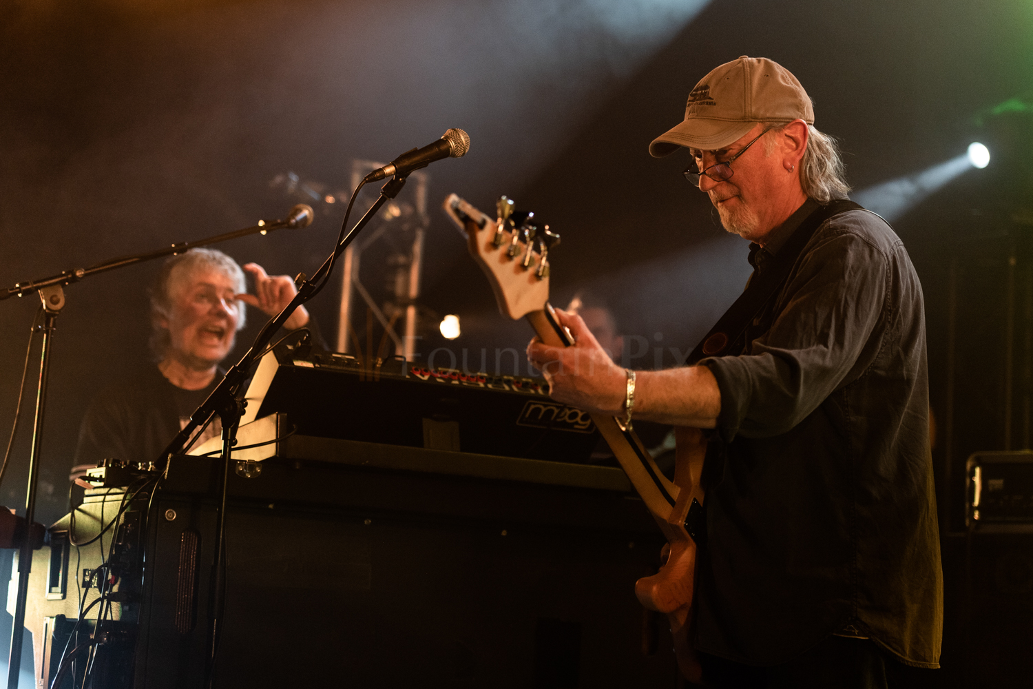 18 Don Airey, Roger Glover