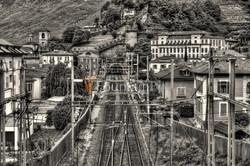 Eisenbahn Gotthardstrecke