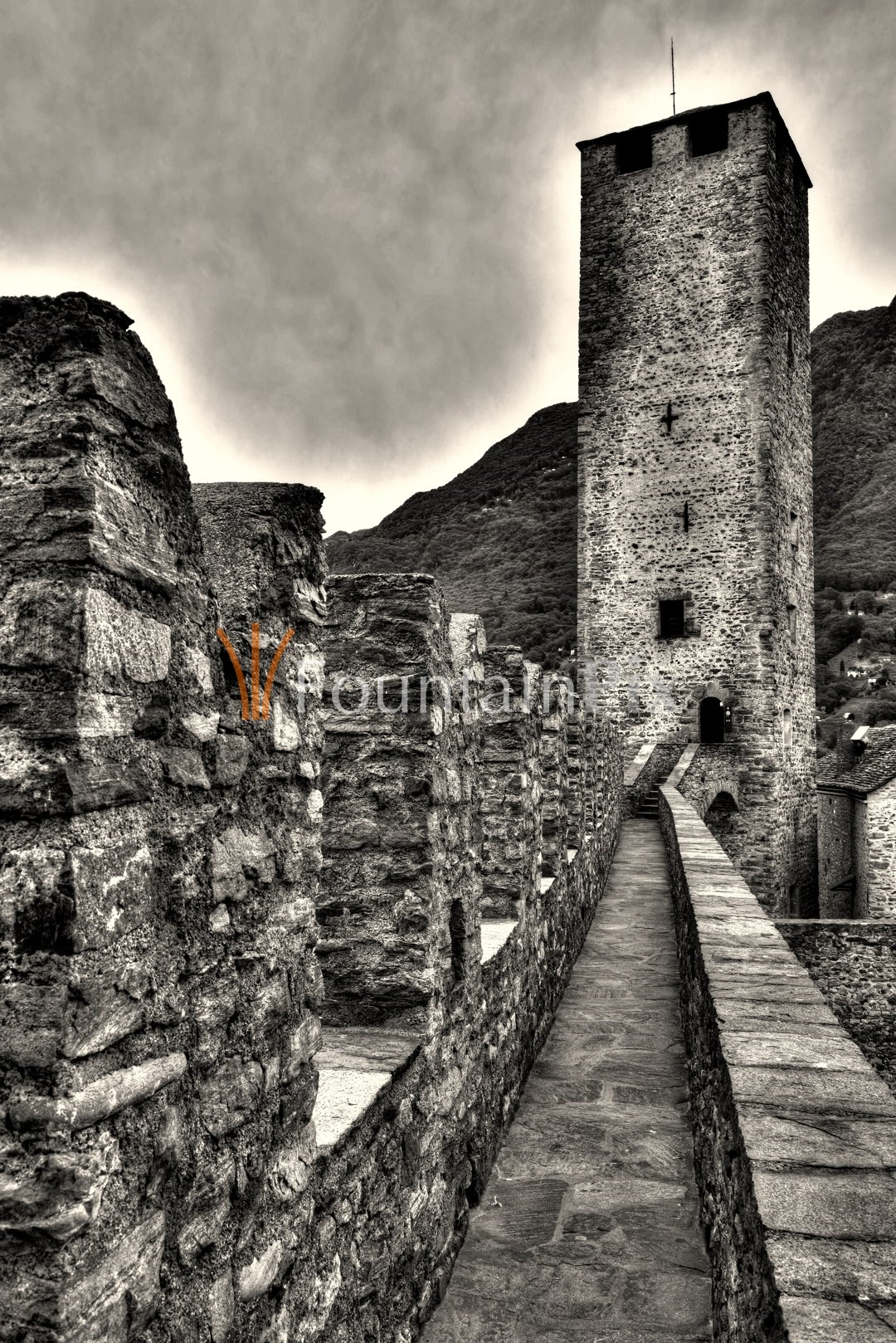 Torre Nero, Castelgrande