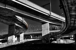 Autobahnkreuz Zürich Brunau