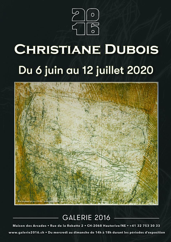 Affiche_Christiane-Dubois