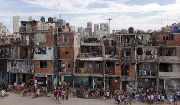 Villa 31, one of Buenos Aires' urban shantytowns