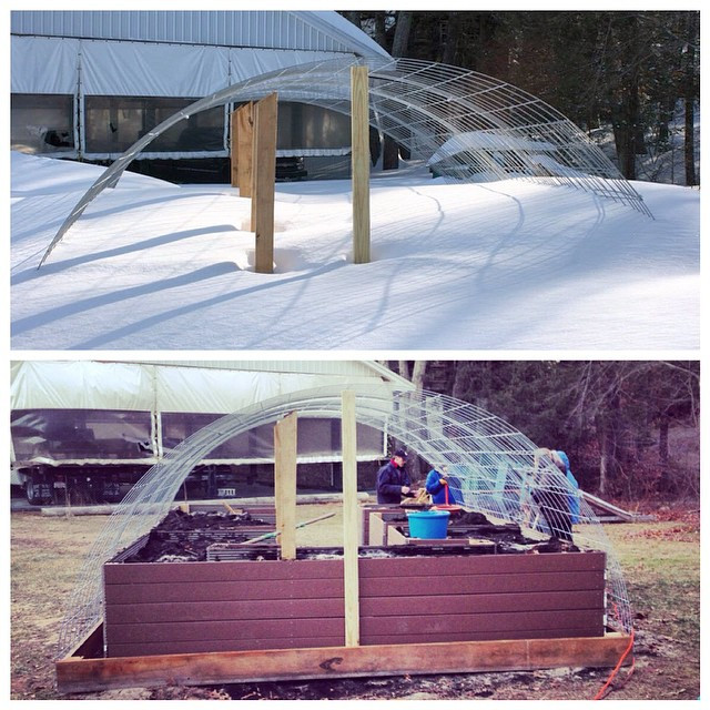 Instagram - What raised beds?  3+ feet of snow at #fortpondfarm and #campnashoba