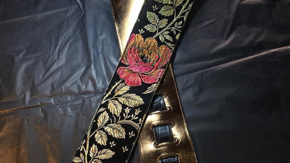 "Custom Guitar Strap 3"" wide"