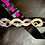 Thumbnail: Entwined Snakes Leather Guitar Strap