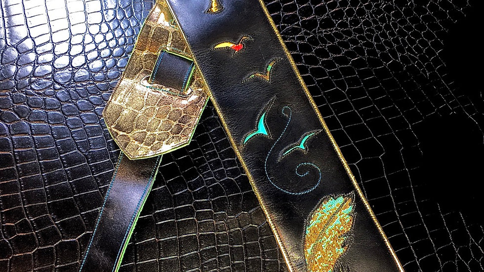 Feather Guitar Strap