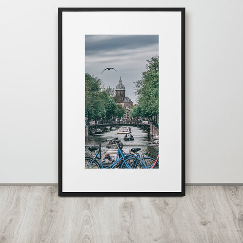 LIMITED EDITION As Above So Below - Unique Photography Print - Amsterdam - NL