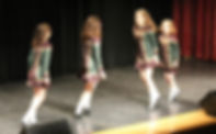 Irish Dancing on stage