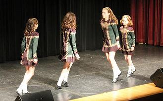 Irish Dancing on stage